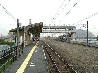 Tamura Station Railway station in Nagahama, Shiga Prefecture, Japan