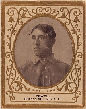 Jack Powell (baseball) - Image: Jack Powell baseball card