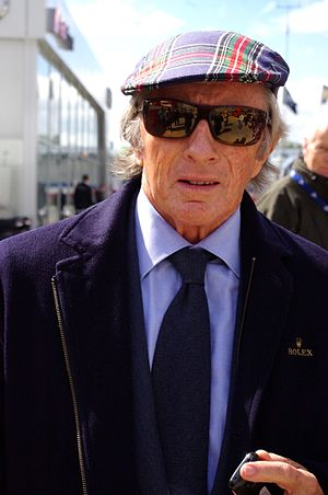 Jackie Stewart - Stewart at the 2014 6 Hours of Silverstone