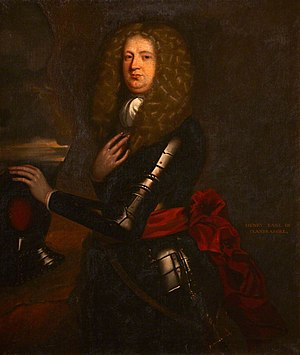 Earl of Clanbrassil - Henry Hamilton, 2nd Earl of Clanbrassil, first creation, by Jacob Huysmans