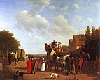 Jacques-Laurent Agasse - The Last Stage on the Portsmouth Road.jpg