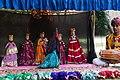 Jaipur-Samode Haveli Garden-Pupettry 02-20131017.jpg