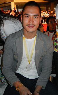 Jake Cuenca Filipino actor-model- footballer