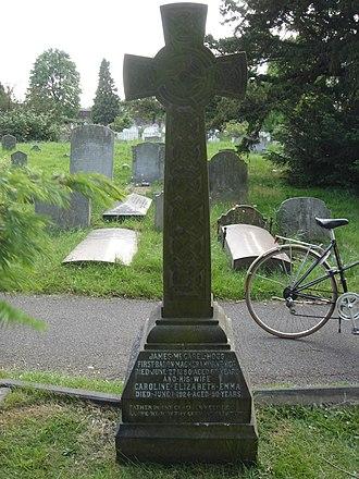 James McGarel-Hogg, 1st Baron Magheramorne - Funerary monument, Brompton Cemetery, London