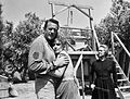 James Arness Amanda Blake Bette Davis Gunsmoke 1966.JPG