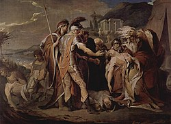 King Lear mourns Cordelia's death, James Barry, 1786-1788