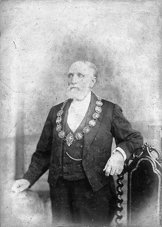 James Gapes - James Gapes in ca 1882