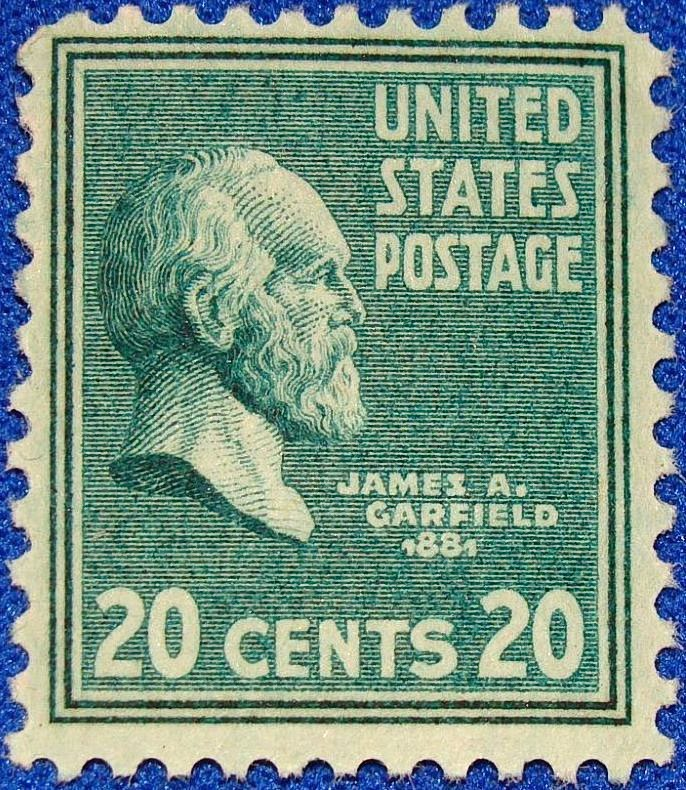James Garfield 1938 Issue-20c