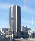 James Monroe Building; Richmond, Virginia from Interstate 90.JPG