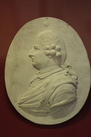 James Stuart (1713–1788) - James Stuart, architect, early miniature by Josiah Wedgwood, British Museum