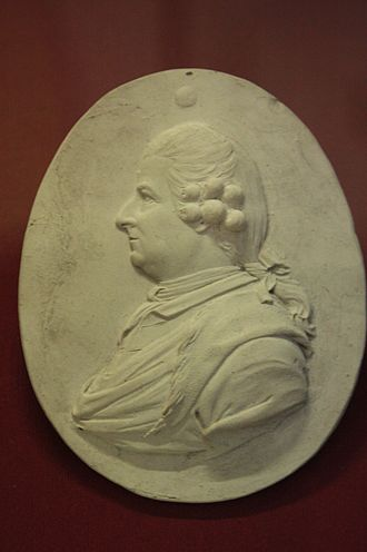 James Stuart (1713–1788) - James Stuart, architect, early miniature by Josiah Wedgwood, British Museum