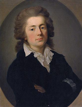 Jan Potocki - Jan Potocki, by Anton Graff, 1785