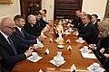 Jarosław Kaczyński i Viktor Orbán w Sejmie, rozmowy.jpg
