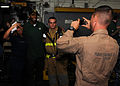 Jarrett Bush with U.S. Sailors and Marines.jpg