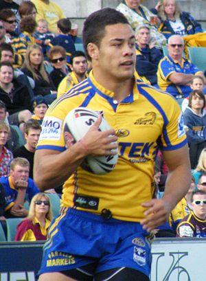Jarryd Hayne - Hayne playing for Parramatta in 2009