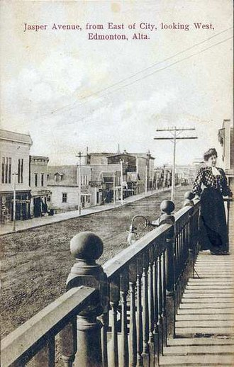 Edmonton - Jasper Avenue, ca. 1907