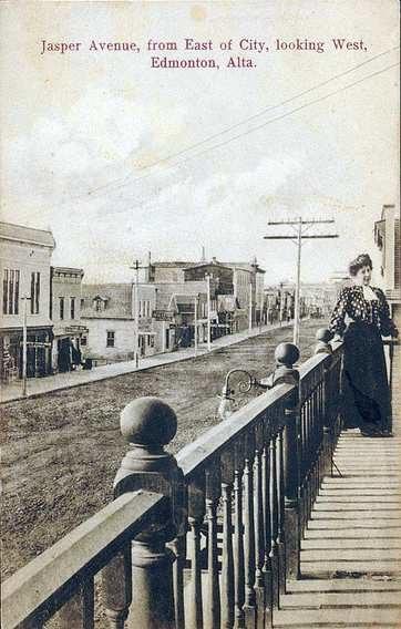 Jasper Avenue Edmonton Alberta ca.1907