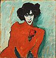 Jawlensky, Alexej - Portrait of the Dancer Aleksandr Sakharov - Google Art Project.jpg