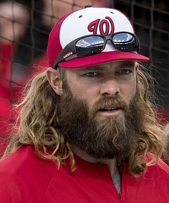Jayson Werth - Werth with the Nationals in 2017