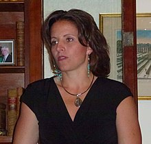 Jen Rizzotti at Govenor's Mansion.jpg