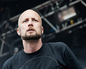 Meshuggah - Frontman Jens Kidman in 2012