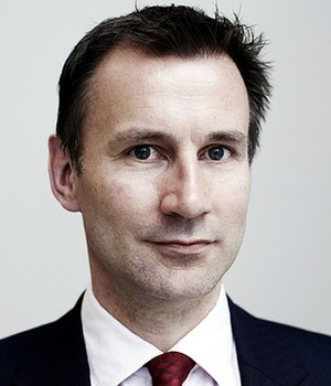 Secretary of State for Health - Image: Jeremy Hunt Official