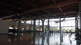 Portland International Jetport - New Security Area at PWM.