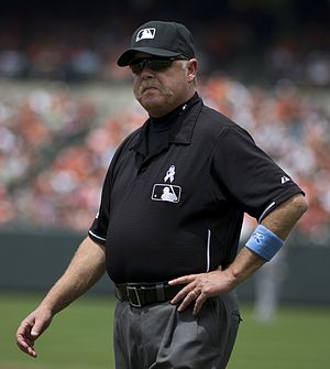 Armando Galarraga's near-perfect game - Umpire Jim Joyce