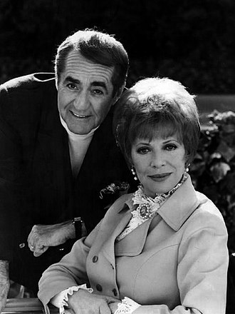Jim Backus - Backus and his wife, Henny, in 1969