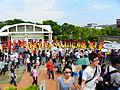 Jingmei Girls' Senior High School Marching Band in Taipei International Flora Expo Closeing Parade 20110425a.jpg