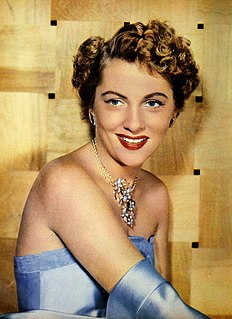 Joan Fontaine British American actress