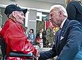 Joe Biden talks to World War II veteran Thomas Marino, 2012.jpg