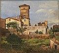 Johan Christian Dahl - The Villa Malta, Rome - NG.M.02270 - National Museum of Art, Architecture and Design.jpg