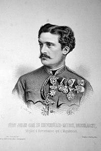 Johann Carl von Khevenhüller-Metsch Litho.jpg