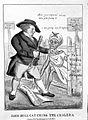 John Bull defending Britain against the invasion of cholera; Wellcome L0003052.jpg