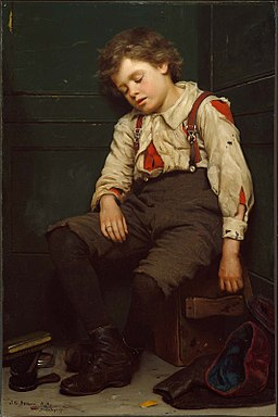 John George Brown, 1888 - The Shoeshine Boy