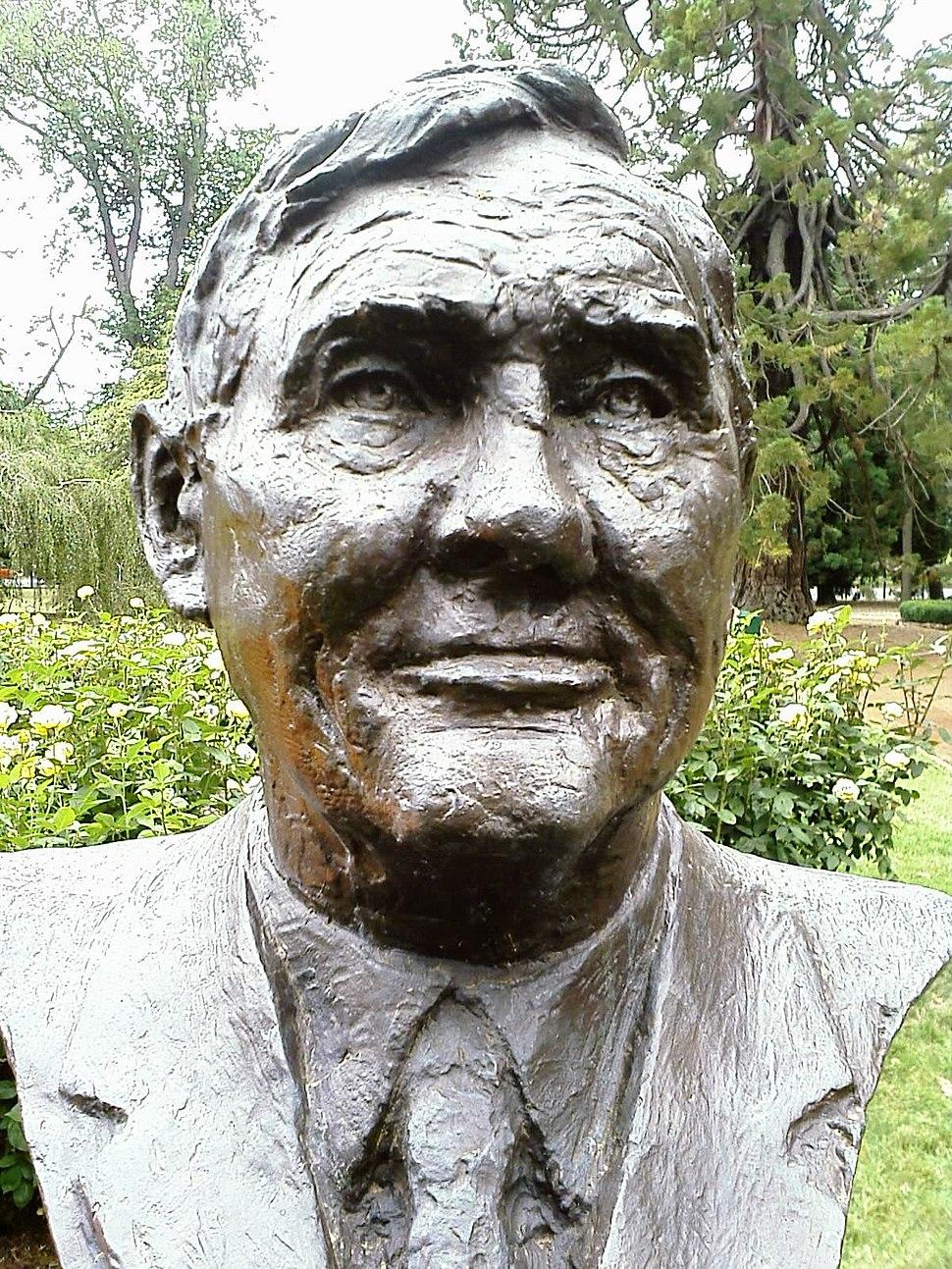 John Gorton bust