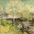 约翰·亨利·Twachtman  - 白Bridge.jpg