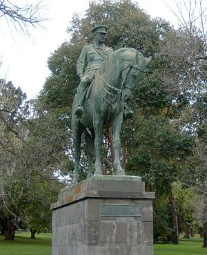Kings Domain - Sir John Monash statue