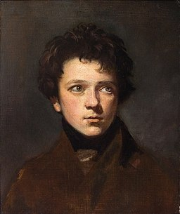 John Opie - Portrait of a young men (c. 1800)