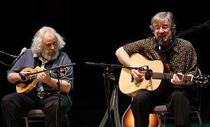 John Sebastian - Sebastian (right) with David Grisman, 2009