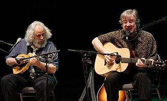 John Sebastian - Sebastian (right) with David Grisman, 2009