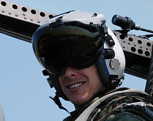 Helmet-mounted display - JHMCS