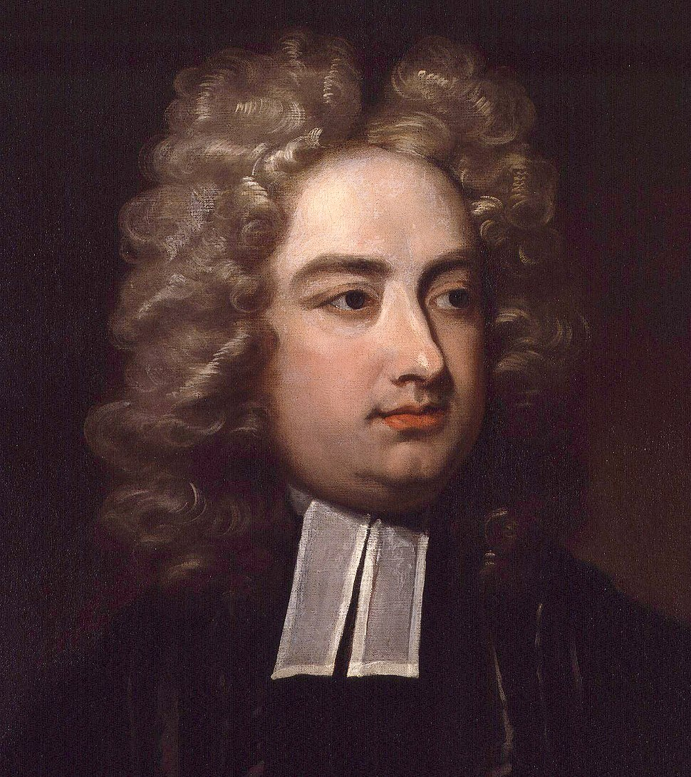 Jonathan Swift by Charles Jervas detail