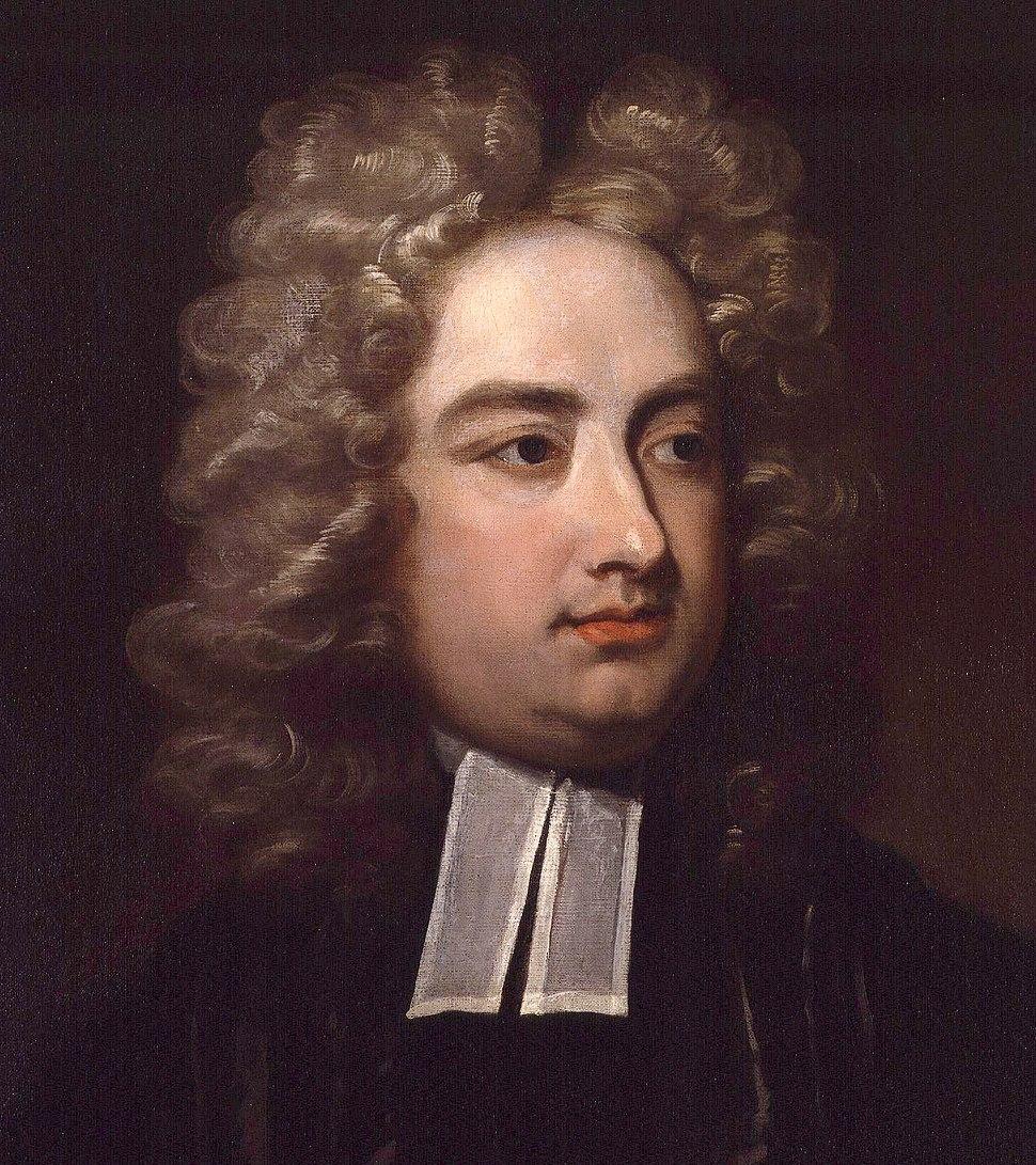 Jonathan Swift by Charles Jervas detail