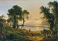 Josef Rebell - Sonnenuntergang über den Campi Flegrei gegen die Inseln Procida und Ischia - 4429 - Kunsthistorisches Museum.jpg