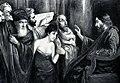 Joseph Block - Christus und die Ehebrecherin, 1905.jpg