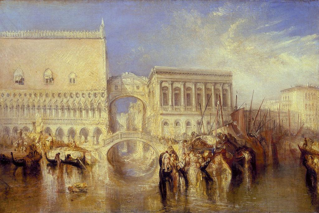 Joseph Mallord William Turner - Venice, the Bridge of Sighs