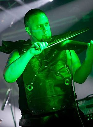 Cruachan (band) - John Ryan, Santiago, Chile 2011