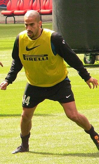 Juan Sebastián Verón - Verón in training for Internazionale